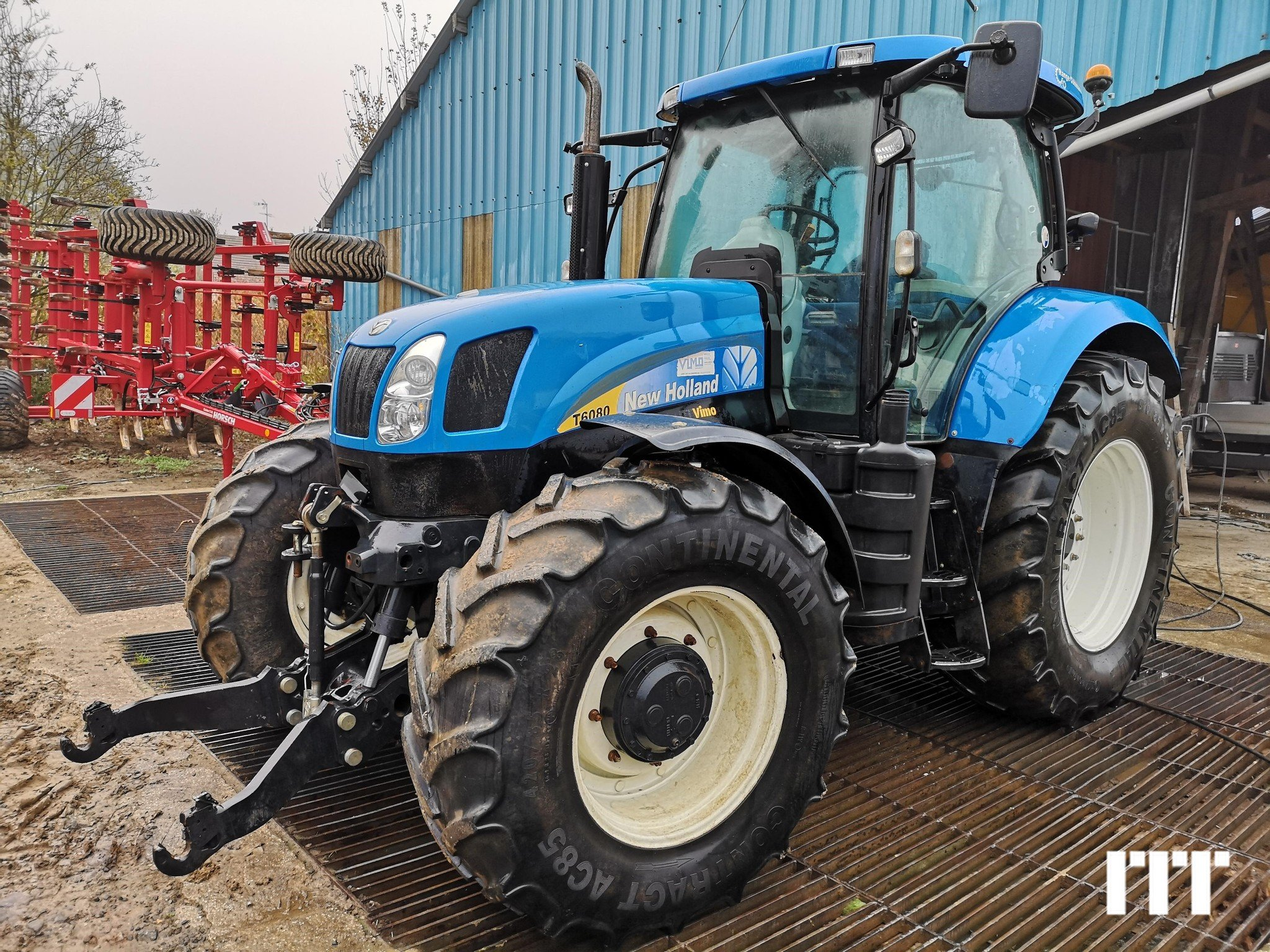 Tractor agricola New Holland T6080 - 1
